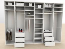 3D Planung Kleiderschrank