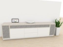 3D Planung Wohnzimmer Sideboard