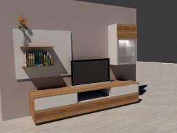 3D Planung Hifi Möbel